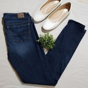 American Eagle Stretch Skinny Jeans Size 2 Long